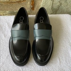 Calvin Klein Florentino Loafers NWOT.
